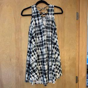 Black and White Francesca's dress